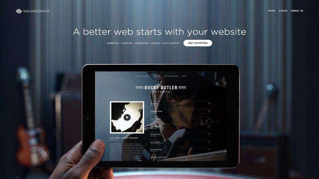 Web Design Content Management Systems: Squarespace