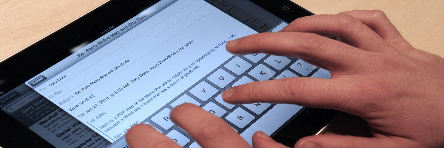User Input and the Mobile User Experience – We're All Thumbs Now or Maybe Not
