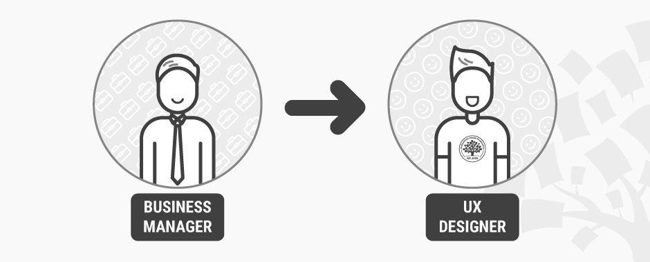 I'm a business manager. How do I become a UX designer?