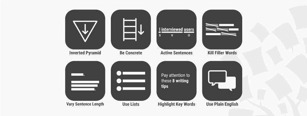 8 Writing Tips to Supercharge the Quality of Your UX Work
